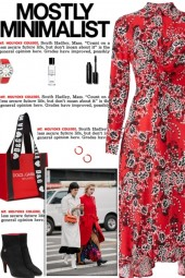 How to wear a Front Twist Floral Shirtdress!