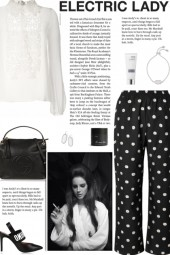 How to wear a Floral Print Straight Leg Trousers!