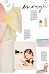 How to wear a Multicolor Pastel Bow Midi Dress!
