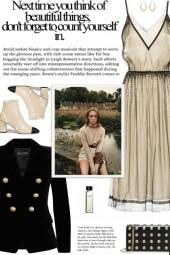 How to wear a Button Embellished Velvet Blazer!