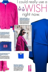 How to wear a Neon Faux Fur Bomber Jacket!