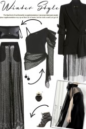 How to wear a Co-ord Draped Tulle Suit Set!