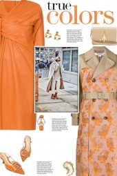 How to wear a Floral Jacquard Trench Coat!
