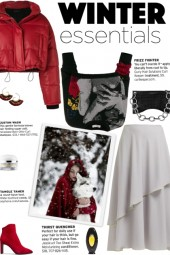How to wear a Cropped Puffer Jacket!