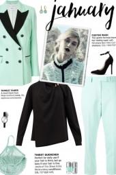 How to wear a Co-ord Contrast Lapel Suit Set!