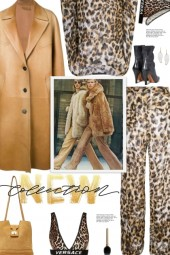 How to wear a Faux Leather Mid Length Coat!
