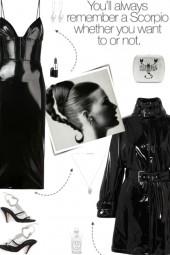 How to wear a Cinched Waist Vinyl Midi Dress!