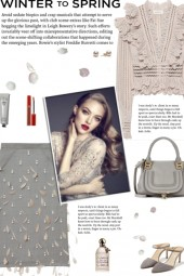 How to wear a Pearl & Feather Embellished Skirt!