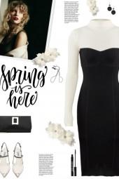 How to wear a Colorblock Knit Sheath Dress!