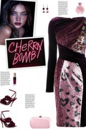How to wear a Patchwork Velvet Dress!