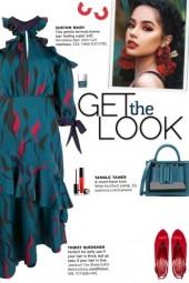 How to wear an Off-Shoulder Ruffle-Trim Dress!