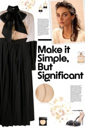 How to wear an Oversized Bow Pleated Panel Dress!