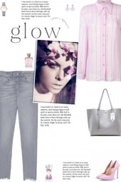 How to wear a Crystal Embellish Long Sleeve Shirt!