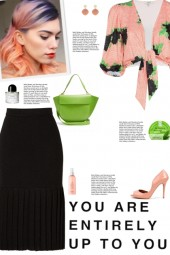 How to wear a Checkered Puff Sleeve Crop Top!