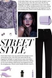 How to wear a Zebra Print Long Sleeve Top!