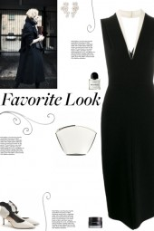How to wear a Tuxedo Style Midi Dress!