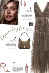 How to wear Asymmetric Sequin Embellished Dress!