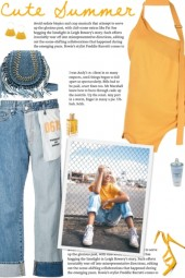 How to wear Inside Out Asymmetric Denim Jeans!