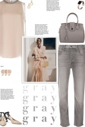 How to wear a Sheer Layer Crew Neck Top!