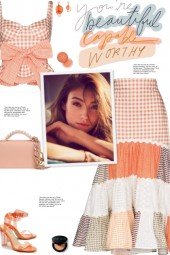 How to wear a Co-Ord Tiered Patchwork Skirt Set!