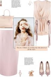 How to wear a Ribbon Waist Sleeveless Blouse!