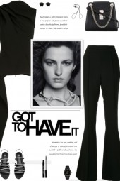 How to wear a Co-Ord Monochrome Draped Pant Set
