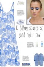 How to wear a Pahari Print Night Dress!