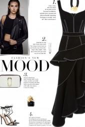 How to wear a Peplum Denim Midi Dress!