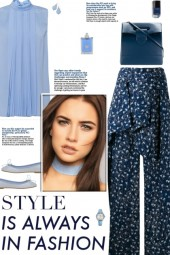 How to wear a Wide Leg Palazzo Wrap Trousers!