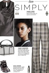 How to wear a Racing Stripe Plaid Trousers!