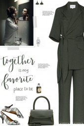 How to wear a Wrap Front Fitted Jumpsuit!