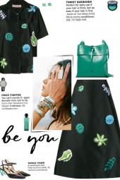 How to wear a Co-Ord Patchwork Skirt Set!