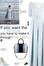 How to wear a Pleated Wide Leg Jumpsuit!