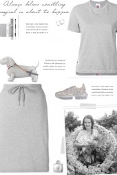How to wear a RWB Stripe Relaxed Skirt Set!