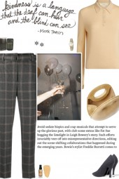How to wear a Checked Cropped High Rise Trousers!