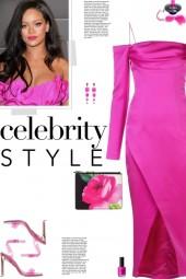 How to wear a Cold Shoulder Front Slit Dress!