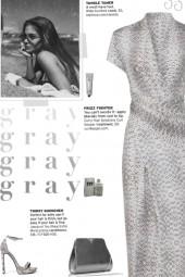 How to wear a Faux Animal Print Wrap Midi Dress!