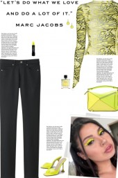 How to wear a Graphic Print Polyster Top!