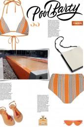 How to wear a Co-Ord Ethnic Print Bikini Set!