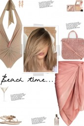 How to wear a Front Knot Halterneck Swimsuit!