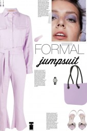 How to wear a Long Sleeve Cropped Jumpsuit!