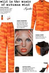 How to wear an All-Over Desert Print Silk Set!