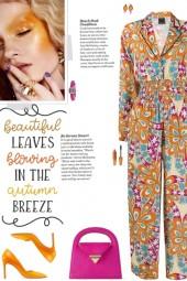 How to wear a Floral Print Multicolor Jumpsuit!
