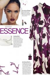 How to wear a High Neck Floral Silk Maxi Dress!