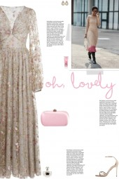 How to wear a Long Sleeve Floral Embroider Dress!