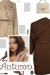 How to wear a Belted Virgin Wool Blazer!
