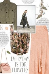 How to wear a Cotton Cropped Military Jacket!