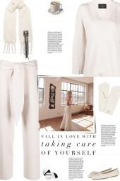 How to wear a Merino Knit Straight Hem Set!