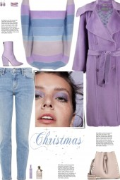 How to wear a Striped Multicolor Sweater!