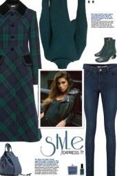 How to wear a Single-Breasted Tartan Coat!